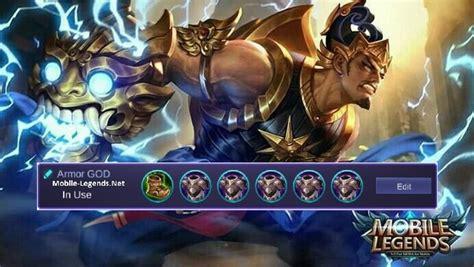 Gatot Kaca Immortal-armor Build 2019