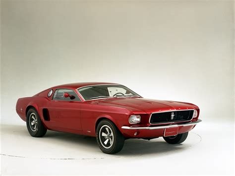 Ford Mustang Mach 1 Concept 1966 Exotic Car Wallpaper 09