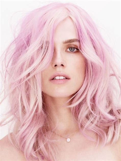 Light Hairstyles by 14 Light Pastel Pink Hairstyles Color Inspiration