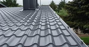Dacheindeckung Blech Preise : metalldachpfanne in ziegeloptik lm d tile luxmetall ~ Michelbontemps.com Haus und Dekorationen