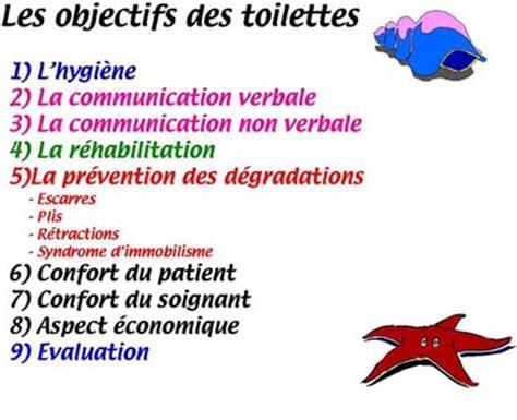 nursing les toilettes des malades en institution