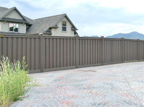 gallery trex fencing  composite alternative  wood