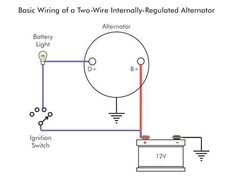 one wire alternator wiring diagram gm 1 wire alternator wiring britishpanto