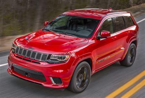 2018 jeep grand cherokee hellcat 2018 jeep grand cherokee trackhawk revealed with hellcat