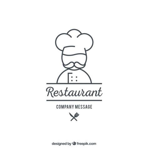 cuisine logo restaurant logo template vector premium