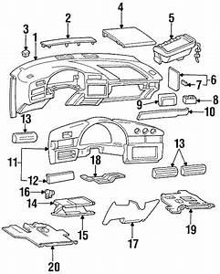 Chevrolet Lumina Fuse Box Cover  Gray
