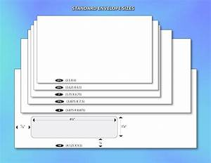 Standard letter size russianbridesglobal for Letter size envelope measurements