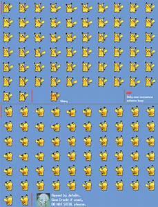 Pikachu Pokemon Sprites Images | Pokemon Images