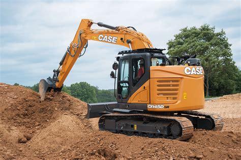 case minimum swing excavator public works magazine jobsite equipment case construction