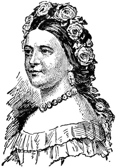 mary todd lincoln clipart