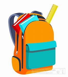 School : books-and-scale-inside-open-backpack-back-to ...