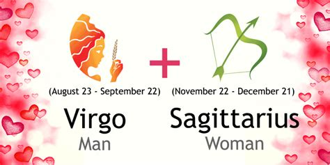 virgo man  sagittarius woman compatibility  oracle
