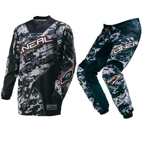 camo motocross oneal new 2016 youth mx element digi camo black bmx