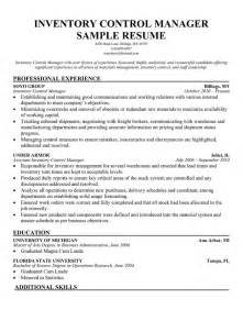 inventory resume template inventory manager resume haadyaooverbayresort