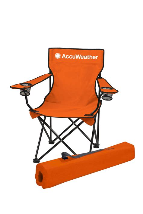 folding chair w carry bag accuweather store