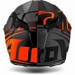 Helmet Face Airoh Orange Matt Sectors Gp500