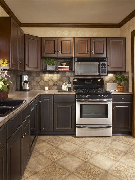 kitchen ceramic tile ideas beige tile floor kitchen colors morespoons 9cb703a18d65 6545