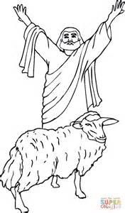 sacrificial lamb coloring page  printable coloring pages