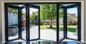Visofold 1000 5 Door Aluminium Folding Sliding Door