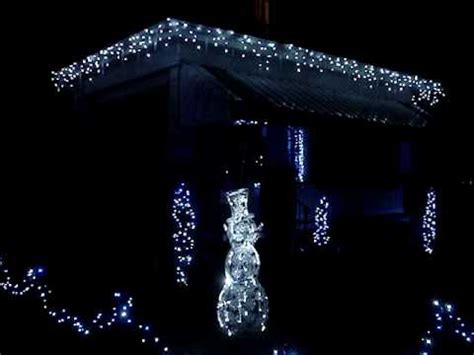 led icicle drip lights in motion doovi