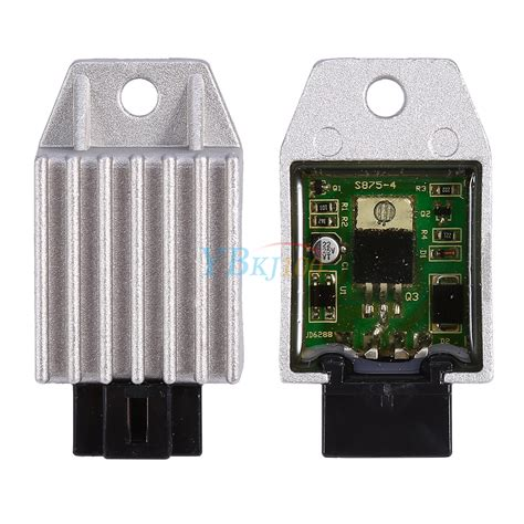 universal motorcycle motor 4 pin voltage regulator rectifier 12v new