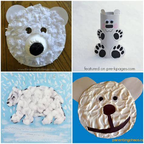 polar bear crafts for preschoolers polar activities for pre k pages 976
