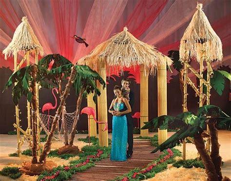 Used Prom Decorations - luau entrance prom prom themes prom decor hawaiian decor