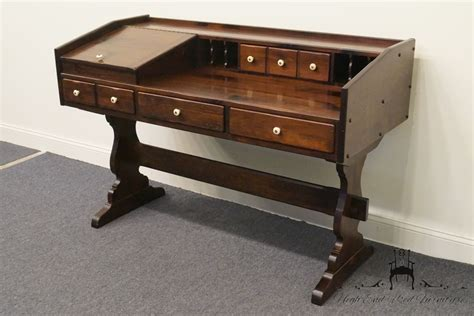 ethan allen desk high end used furniture ethan allen antiqued pine