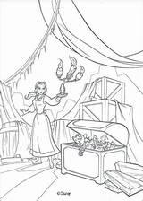 Coloring Belle Attic Printable sketch template