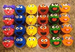 Sesame Street Cupcakes! - CakeCentral com