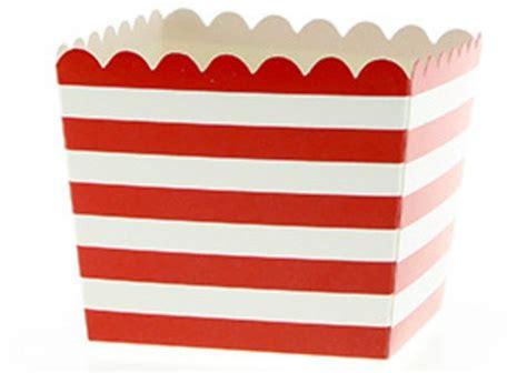 Rot Weiß Streifen by 2 Rot Wei 223 E Streifen Snack Schachteln Ab 1 80 Rot