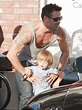 Colin Farrell picked up his son, Henry Farrell. | Colin ...