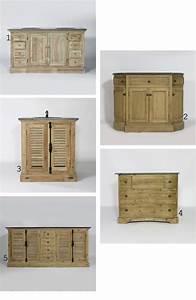 Meuble De Salle De Bain En Bois Massif : meuble de salle de bain en bois massif valdiz ~ Edinachiropracticcenter.com Idées de Décoration