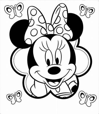 Minnie Mouse Coloring Forget Supplies Don