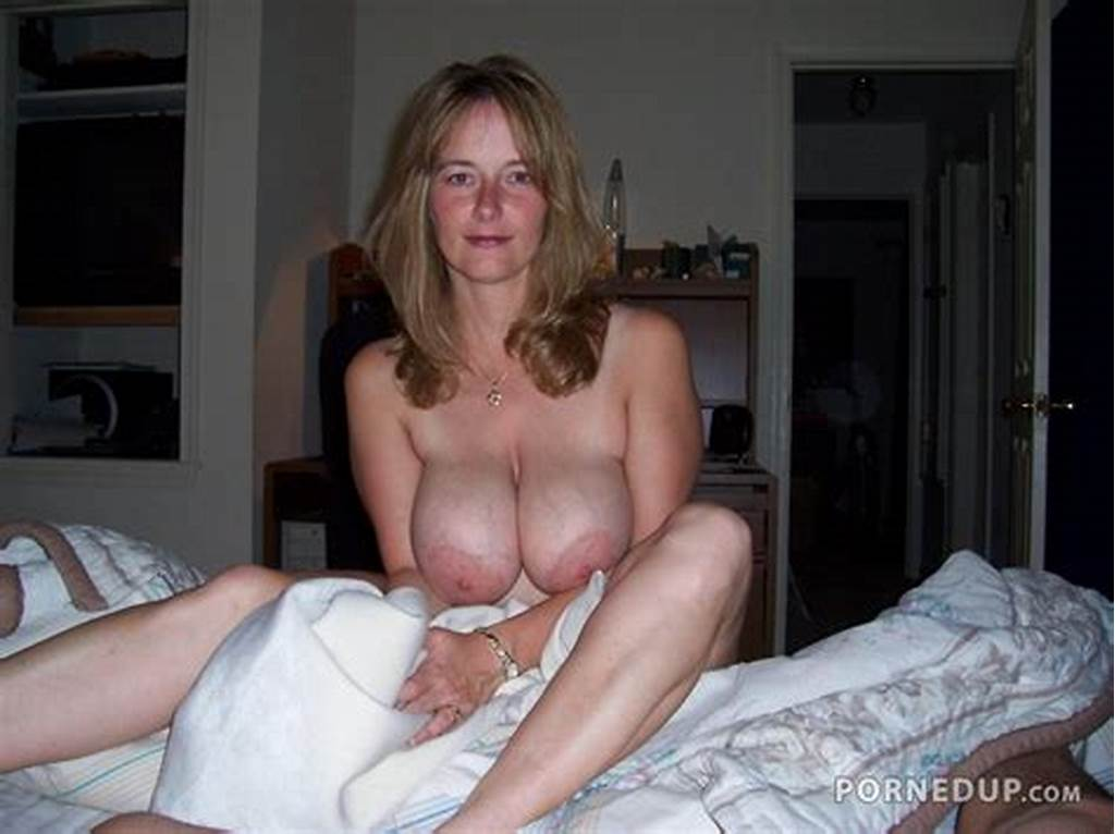 #Topless #Milf #On #Bed