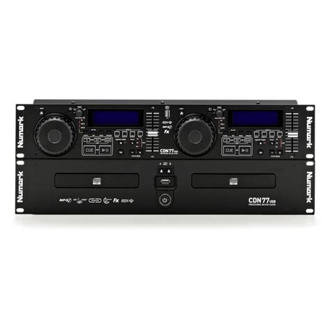 usb cd player numark cdn77usb professional dual usb mp3 cd player at gear4music