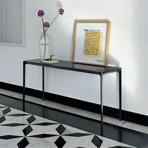 Console En Verre : console design en verre slim sovet 4 pieds tables chaises et tabourets ~ Teatrodelosmanantiales.com Idées de Décoration