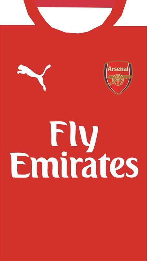 Arsenal Kit Wallpaper for iPhone
