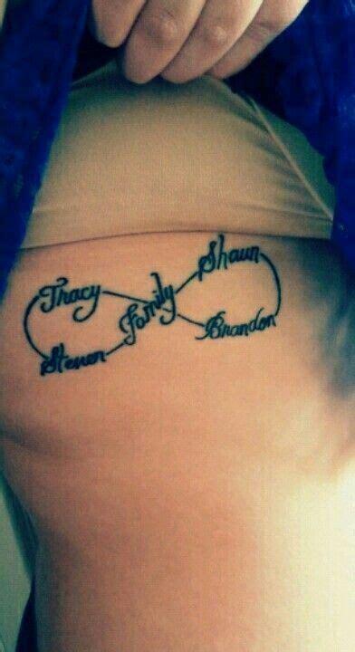 infinity sign  kids names tats tattoos  kids