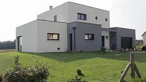 Facade Maison Grise : facade maison blanche et grise chaton chien donner ~ Melissatoandfro.com Idées de Décoration