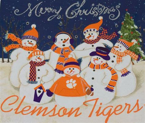 clemson tigers clemson and merry christmas on pinterest