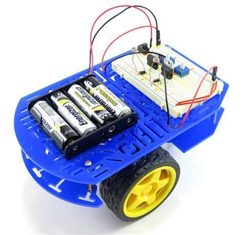 Robot Light by Build A Speedy Light Tracking Robot Bluebot Project 2