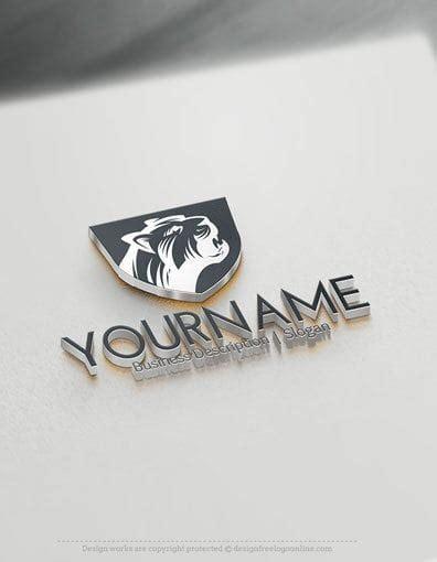 design  logo create   jaguar  logo template