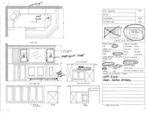 Home Bar Measurements by Typical Home Bar Becuo House Plans 2438