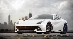 Ferrari F12 White Wallpaper - image #49
