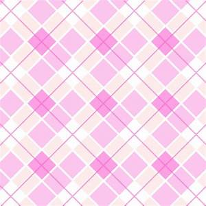 Pink Plaid Pattern - Background Labs