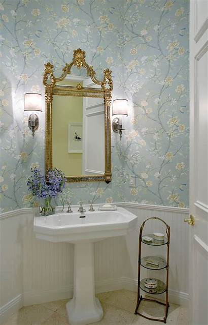 Powder Hall Bathroom Guillaume Gentet French Country