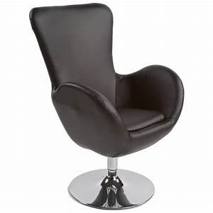 Fauteuil Pivotant Design : fauteuil design et contemporain james pivotant noir ~ Teatrodelosmanantiales.com Idées de Décoration