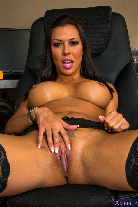Busty Brunette Got Fucked Instead Of Working Milf Fox