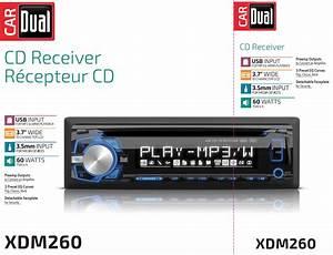 Dual Electronics Xdm260 Multimedia Detachable 3 7 Inch Lcd